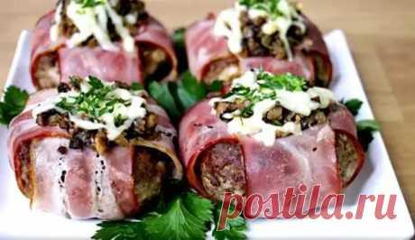 Мясные фонарики- такая вкуснота в духовке - Все о кухне - медиаплатформа МирТесен