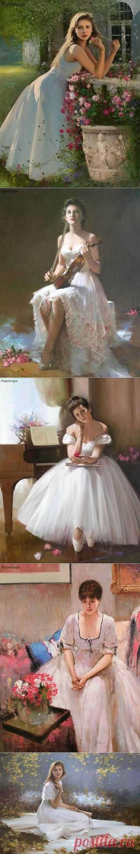 =Женщины художника Ан Хи=.