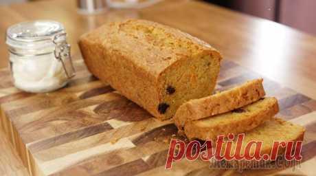 Английский морковный кекс Очень простой в приготовлении!Сахар коричневый - 150 гЯйца - 2 штВанильный сахар - 0,5 ч лМасло подсолнечное - 150 млМука пшеничная - 150 гСода - 0,5 ч лРазрыхлитель - 0,5 ч лСоль - 0,25 ч лИзюм - 50 ...