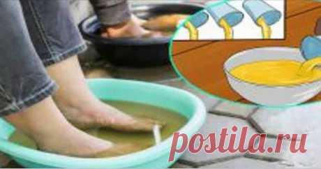 Окуните свои ноги в уксус раз в неделю, и вы увидите, как исчезнут все ваши болезни!