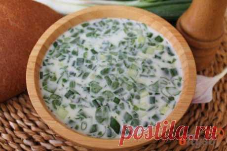 Окрошка на сметане с ветчиной, чесноком и бальзамическим уксусом 1 - рецепты с фото на vpuzo.com