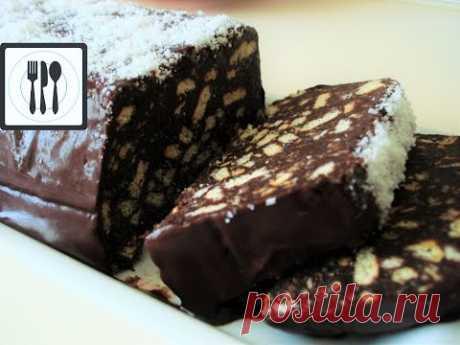 Торт Мозаика/Шоколадное пирожное без выпечки/Быстро и Вкусно! Mozaik pasta tarifi