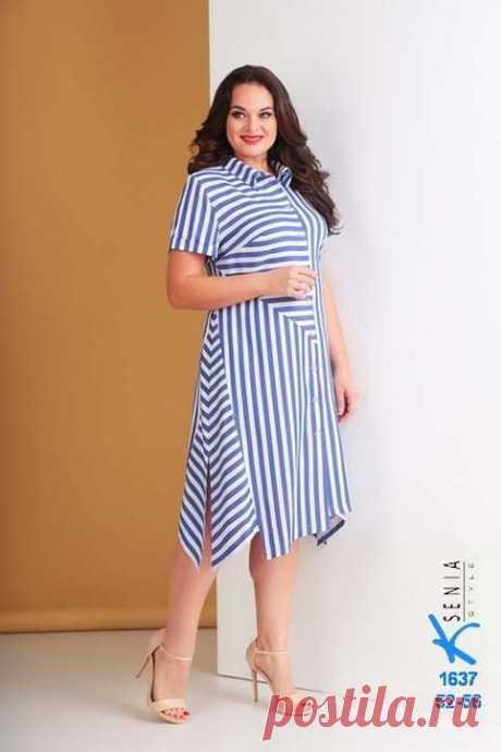 Коллекция женской одежды больших размеров белорусского бренда Ksenia Style весна-лето 2019