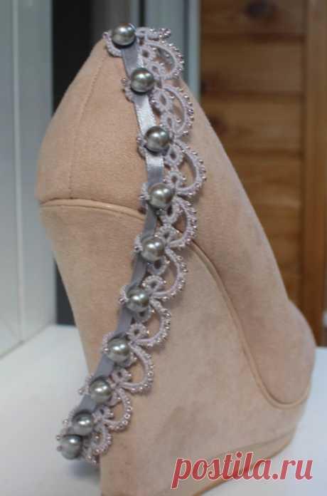 """Ободок """"серебряные капли"""" в каталоге Аксессуары на Uniqhand - для волос, повязка, ободок, бисер"""
