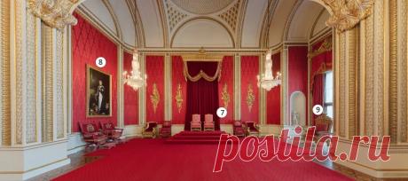 Сюрприз в подвале и потайной ход в зеркале: Так живет Елизавета II в Букенгемском Дворце. Фотоподборка | Королевская жизнь | Яндекс Дзен