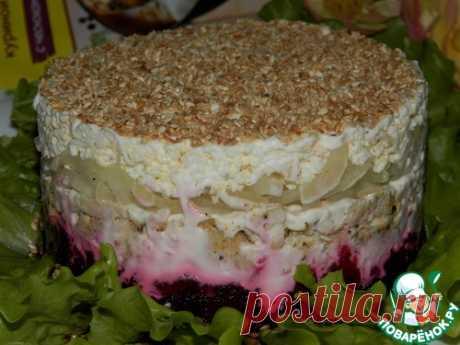 """Салат """"Гуцулочка"""" – кулинарный рецепт"""