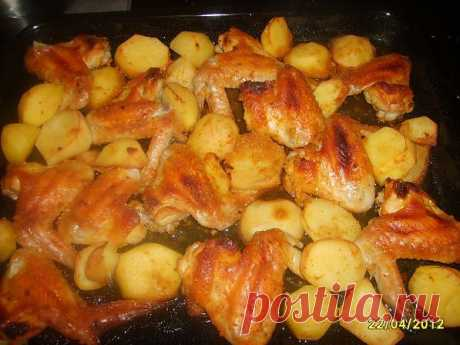 Медовые крылышки  Такое блюдо мы готовим очень часто, можно сказать, что это настоящий семейный рецепт. Просто, вкусно, необычно. Готовим соус:  Мед смешиваем с сухой горчицей (на 4 ст.ложки меда - 2 ст.ложки горчицы), добавляем соль и цедру одного апельсина.