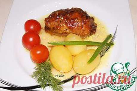 Куриные ножки, фаршированные сулугуни - кулинарный рецепт