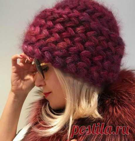 Стильные и необычные вязаные шапки на зиму 2020-2021 — SamantaWay