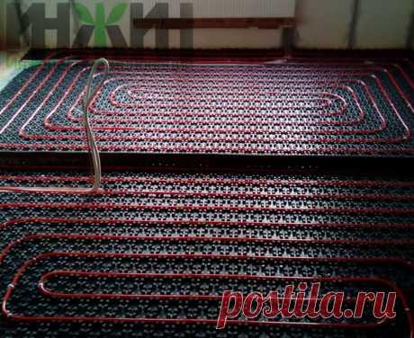 Монтаж теплого пола в доме из кирпича, фото 762