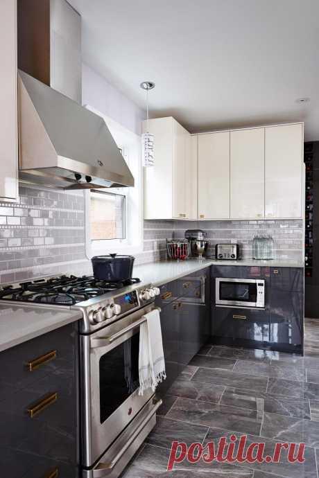 Современный дизайн угловой кухни. Все, что нужно знать (+50 фото)