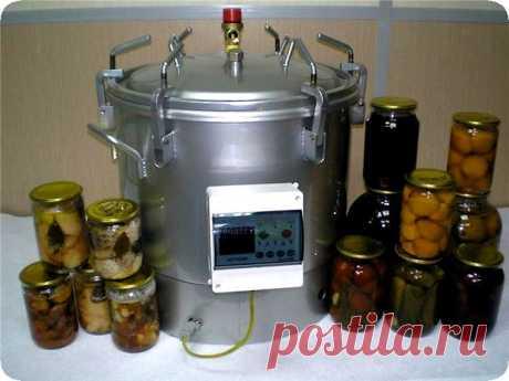Самодельный автоклав для заготовки консервации – чертежи и пошаговая сборка Автоклав – это устройство, активно используемое для домашнего консервирования своими руками. Оно позволяет использовать промышленную технологию
