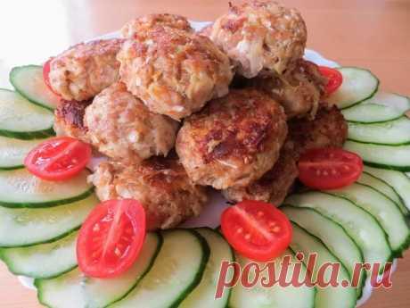 Удивительно вкусные домашние котлеты почти без мяса - БУДЕТ ВКУСНО! - медиаплатформа МирТесен