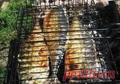 Скумбрия-гриль с лимоном - рецепт с фото #скумбрия #нагриле #рецептысфото