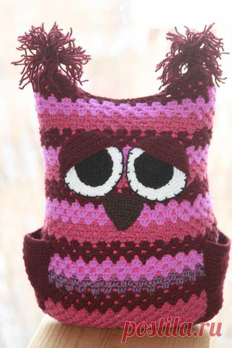 #игрушки@fan_handmade Handmade Club: #игрушки@fan_handmade.Подушка -игрушка.Сонная сова.Любит сидеть на диване и смотреть телевизор до ...