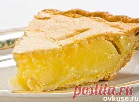 Не могу удержаться от соблазна приготовить этот лимонный пирог! Самая летняя выпечка - Простые рецепты Овкусе.ру