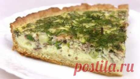 Рецепт пирога с рыбными консервами и луком Рецепт пирога с рыбными консервами и луком Быстрый простой Рецепт пирога с рыбными консервами и луком, со сметанной заливкой и зеленью.Сытный ужин для всей семьи! Продукты для рыбного пирога:Для теста: Маргарин — 100 г Мука пшеничная — 150 -170 г Сметана — 3 ст...