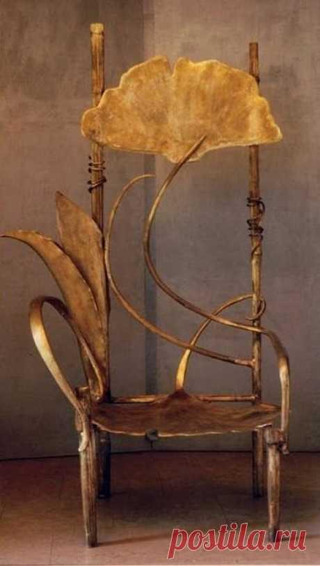 Не стулья, а произведения искусства
