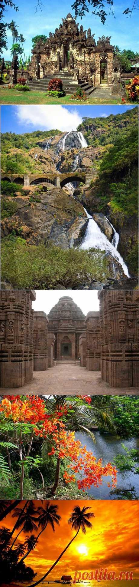Гоа Жемчужина Индии | ТУРИЗМ И ОТДЫХ