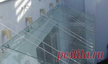 Изготовление стеклянных навесов в Минске | Стеклянные навесы для террасы, цена