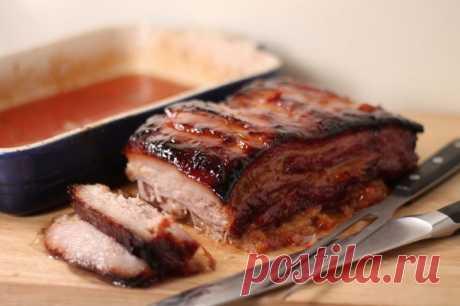 Свинина, запеченная по-китайски — Sloosh – кулинарные рецепты