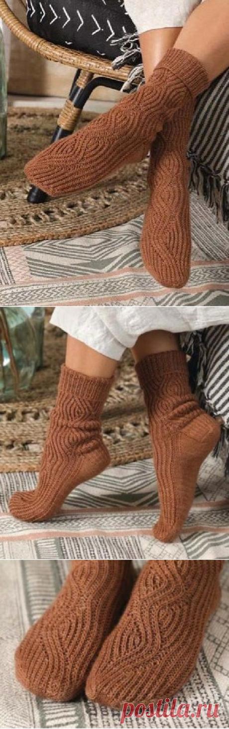 Вязаные носки «Peregrinate» | ВЯЗАНЫЕ НОСКИ