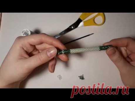 Ручка из бисера. Сувенирная ручка своими руками. Бисер для начинающих