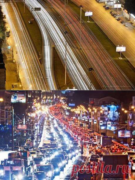 Эх, дороги Москвы. Мечты и реальность. Помечтаем.