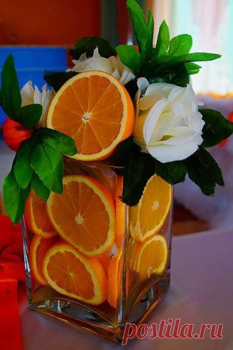 апельсиново-мандариновая свадьба