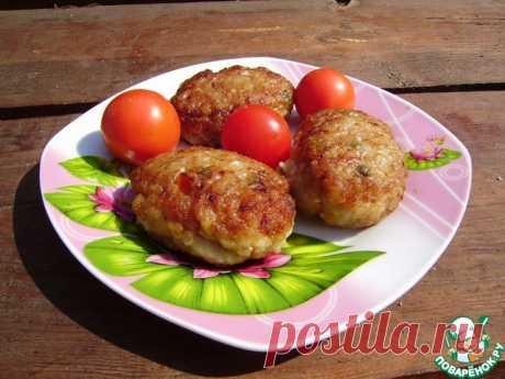 """Котлеты """"Цыганские"""" – с помидорами (можно не только запекать в духовке, но обжаривать на сковороде)"""