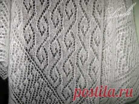 Шали спицами. Схемы - запись пользователя Vikpolia (Нина) в сообществе Вязание спицами в категории Вязание для женщин спицами. Схемы вязания спицами