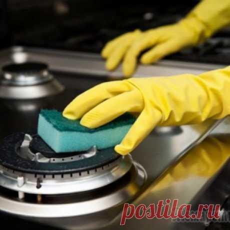 Народные средства, которые заставят кухонную плиту блестеть - МирТесен