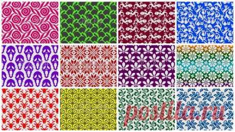 Жаккардовые или филейные узоры (часть 1) | Вязание крючком от Елены Кожухарь