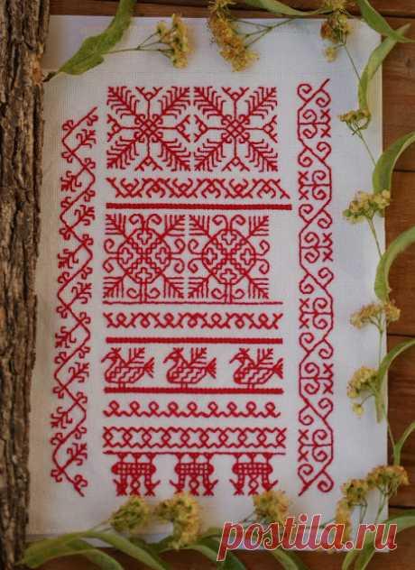 Чудеса на чердаке: Первые шаги по новому пути. Традиционная русская вышивка. Досюльный шов.