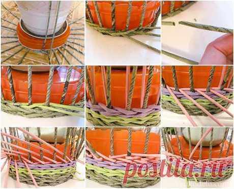 Плетение корзин - три лучших варианта МК.
