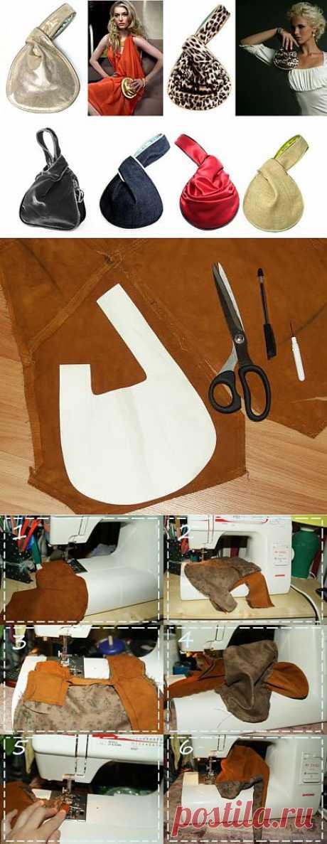 Мой C.L.I.C.K. bag (мастер-класс) / Сумки, клатчи, чемоданы / Модный сайт о стильной переделке одежды и интерьера