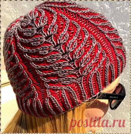 Интересная техника вязания спицами — «бриошь» и один из вариантов ее выполнения   Ольга knits спицами и крючком   Яндекс Дзен