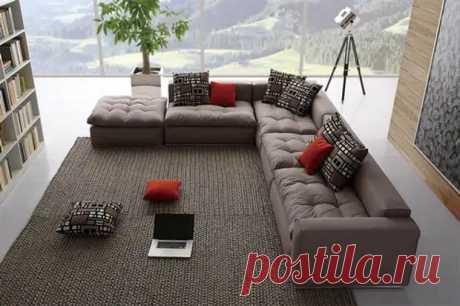 Основные критерии выбора дивана для гостиной - Самоделкино - медиаплатформа МирТесен