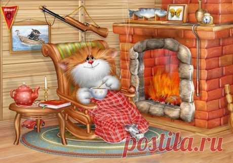 Самый лучший вечер - это вечер с теплым чаем, и теплым человеком.