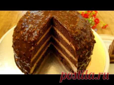 Шикарный Торт ! Без Духовки ,Без формы .Шохона Торт Духовкасиз ва Колипсиз .💥💥No Oven Cake No pan !