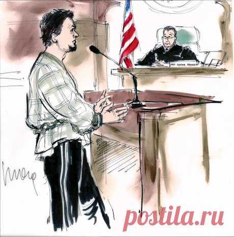 Почему с заседаний американских судов нет фотографий, а есть зарисовки? | Вопрос-ответ | Вокруг Света