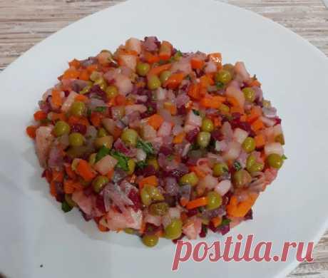 Винегрет по рецепту ростовского ресторана