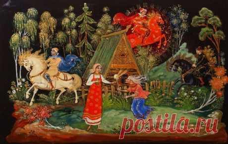 Русские народные сказки про ведьм, Кощея Бессмертного, Бабу Ягу и других героев в литературной обработке и в прекрасном исполнении.