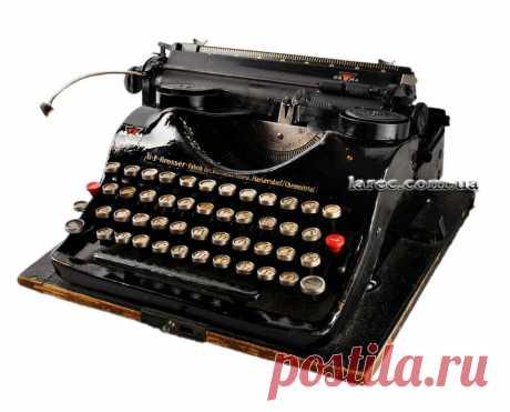 Довоенная антикварная печатная машинка Groma купить Украина | Интернет-магазин подарков Ларец