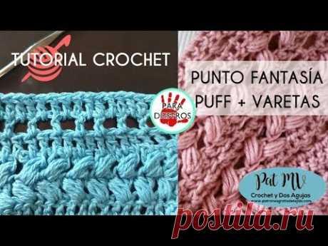 PUNTO FANTASIA # 3 Tutorial Crochet ❣️