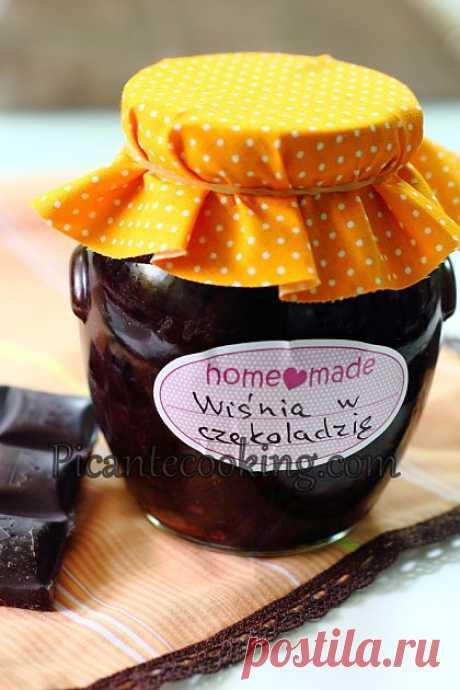 Picantecooking: Вишни в шоколаде с ромом/