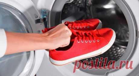 Как правильно стирать кроссовки в стиральной машине Простой алгоритм действий, несколько правил стирки, и вы сэкономите на покупке новой спортивной обуви.Прежде, чем кидать пару кроссовок в стиральную машину, нужно разобраться, можно ли это делать.Можн...