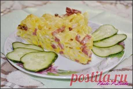 Рецепт «Запеканки по-деревенски».   источникЛюблю готовить!!!! :) Кулинарные рецепты           Рецепт «Запеканки по-деревенски».Продукты:Макароны готовые, любые то, что осталось с обеда или ужина.Колбаса любая, та что есть в холоди…