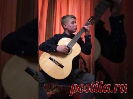 Скрипченко Кирило (гітара, 3 к.) | В. Леоненко - Осінній ескіз | #ad_guitar2020