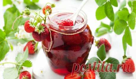 Варенье из клубники. Как сварить варенье из клубники на зиму густое с целыми ягодами